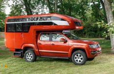 Der GehoCab Kora auf VW Amarok. (Foto: VWN)