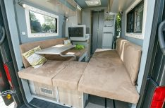 Der Innenraum des Schwabenmobil Florida Tango. (Foto: VWN)