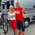 SMV-Metall präsentiert Fahrradträger Bike Max Lift