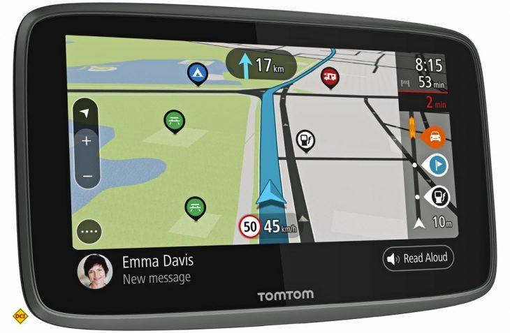 Mit dem Go Camper stellt TomTom ein neues Navigationsgerät mit spezieller Routenplanung für Camper vor. (Foto: Werk)