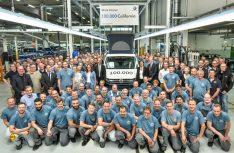 In der Fertigungsstätte Hannover-Limmer wurde der 100.000ste California gebaut. 2017 erzielte die Marke mit 15.155 California einen neuen Produktionsrekord (+18 Prozent). (Foto: VW Nutzfahrzeuge)