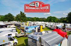 Über 400 Fahrzeuge haben sich bei Kaiser-Wetter zum 1. Wohnmobil-Treffen am Stellplatz Klüsserath an der Mosel eingefunden. (Foto: det)