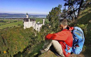Wandern, Familie und Freunde sind laut Allianz-Studie die Hauptgründe für Urlaub in Deutschland. (Foto: Füssen Tourismus)