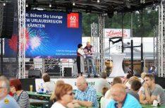 Auf der Live-Bühne moderierte Peter Hirtschulz viele spannende Berichte, Vorträge und Interviews. (Foto: F. Berger)