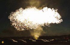 Das Highlight der Veranstaltung war sicherlich das fulminante Brillant-Feuerwerk am Freitag, das jeden Camper zum Staunen brachte. (Foto: F. Berger)