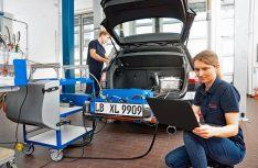 Die neue Bosch-Technik unterbietet mit Rekordwerten auch im Realbetrieb (Real Driving Emissions) die aktuellen und ab 2020 gültigen Grenzwerte für Stickoxid-Emissionen. (Foto: Bosch)