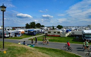 Prima Beispiel für barrierefreies Camping: Camping in Schilling, Ostfriesland. (Foto: Leichter Reisen)