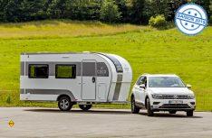 Aus der Studie wird eine Serie: Der Leichtbau-Caravan Coco geht 2019 bei Dethleffs in Serie. (Foto: Werk)