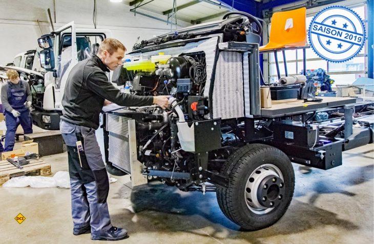Was Fahrzeugbauer als Technikpartner der Reisemobil-Hersteller leisten können zeigt der Fahrwerks- und Umbauspezialist Fahrzeugbau Meier aus Altdorf bei Nürnberg. (Foto: Fahrzeugbau Meier)