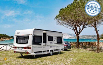 Der Bianco Selection 2019 ist ein Reisecaravan für den Vielreisenden. Er bietet die meisten Varianten mit kompakter Länge an. (Foto: Werk)