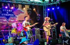 Das Unterhaltungsprogramm des Reisemobil-Sommerfestes auf dem Friedensplatz in Goch steht ganz im Zeichen derCountry Musik. (Foto: Stadt Goch)