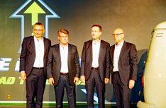 Blickt auf eine fantastisches Rekordjahr zurück: Die Knaus Führungsmannchaft. (Foto: alf)