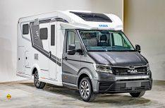 Mit den Van Ti Plus bietet Knaus als erster Hersteller ein teilintegriertes Reisemobil auf Basis des neuen MAN TGE an. (Foto: Werk)