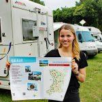 Neue Info-Tafeln bieten mehr Service für Reisemobil-Touristen am Niederrhein