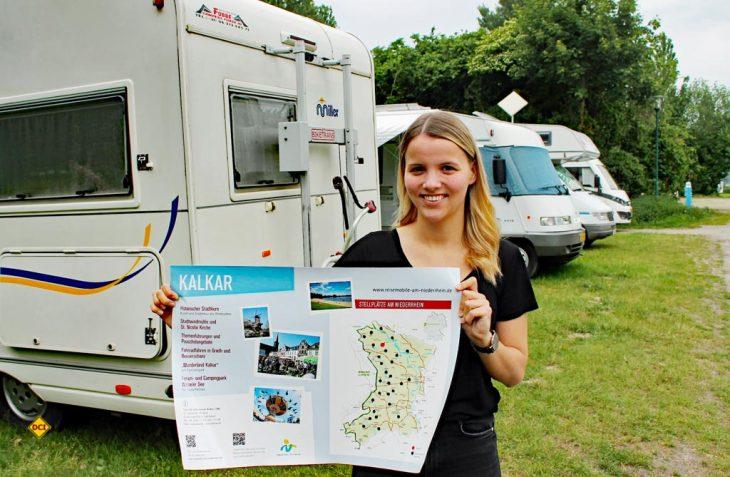 12 neue Info-Tafel informieren Reisemobil-Touristen am Niederrhein mit geballtem Service an den Stellplätzen. (Foto: Niederrhein-Tourismus)