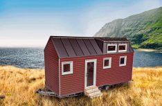 Das Top-Modell: Tiny House III. (Foto: Tchibo)