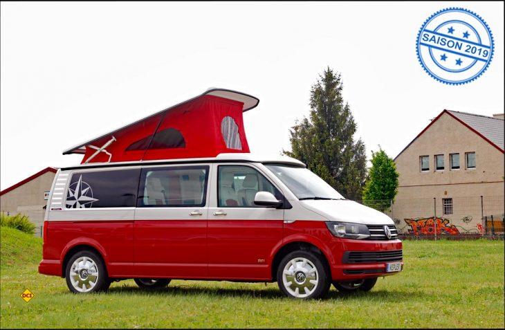 Mit dem Kepler Sixty erweitert Westfalia die Baureihe um einen markanten Campingbus im Bicolor-Retro-Style. (Foto: alf)