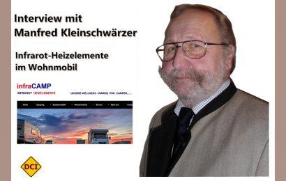 Manfred Kleinschwärzer bringt die Wärme in das Wohnmobil. Über die Firma Infracamp vertreibt er Infrarot-Heizelemente für Campingfahrzeuge aller Art. (Foto: Infracamp)