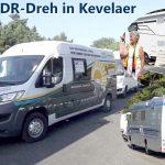 Weltrekord-Konvoi Walldürn – Probe vor laufender WDR-Kamera erfolgreich gemeistert