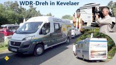 Der Weltrekord-Konvoi ist sehr aktiv und bekommt dadurch viel Sichtbarkeit und Akzeptanz in der Öffentlichkeit. Hier beim WDR-Dreh in Kevelaer. (Foto: tom/DCI)