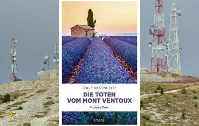 Der friedliche Eindruck blühender Lavendelfelder trügt – nur wenige Kilometer weiter stoßen Hobby-Radfahrer am Mont Ventoux auf ein fürchterliches Verbrechen. (Foto Verlag / det / D.C.I.)