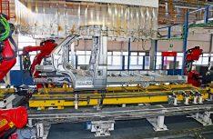 Die Rohkarosse des Fiat Ducato mit Leiterrahmen. (Foto: Fiat Professional)