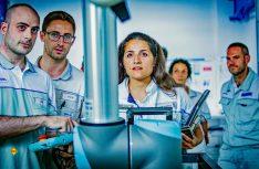 In der Akademie werden die Teamleader noch besser auf ihre Aufgabe vorbereitet, außerdem werden Arbeitsprozesse simuliert und trainiert. (Foto: Fiat Professional)