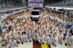 Produktionsrekord im Jahr 2015: Der 5-Millonste Fiat Ducato rollte im SEVEL-Werk Atessa vom Band. (Foto: Fiat Professional)
