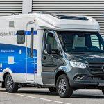 Mercedes-Benz Vans präsentiert Sprinter-Reisemobil mit Elektroantrieb und Brennstoffzelle