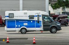 Reisemobil-Studie mit Lösungen für die Langstrecke - Mercedes-Benz Vans präsentiert Concept Sprinter F-Cell. (Foto: Mercedes-Benz)