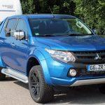 Kurz vorgestellt – Zugfahrzeug Mitsubishi L 200