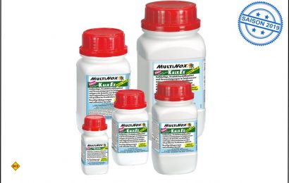 Halbe Dosis – gleiche Wirkung: Zur schnellen und gründlichen Entalkung von Wasseranlagen kann man jetzt mit Multiman KalkEx kräftig sparen. (Foto: Multiman)