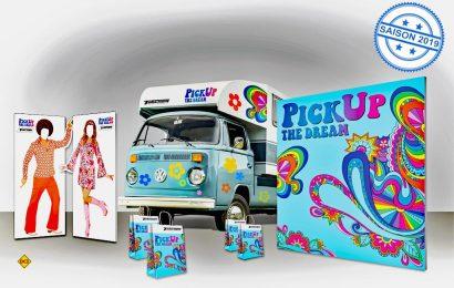 Blick zurück: Tischer feiert 2018 sein 45jähriges Unternehmensbestehen und bringt deshalb eine echte Rarität mit auf den Caravan Salon in nach Düsseldorf: Die allererste Wohnkabine auf einem VW Bulli T2. (Foto: Tischer)