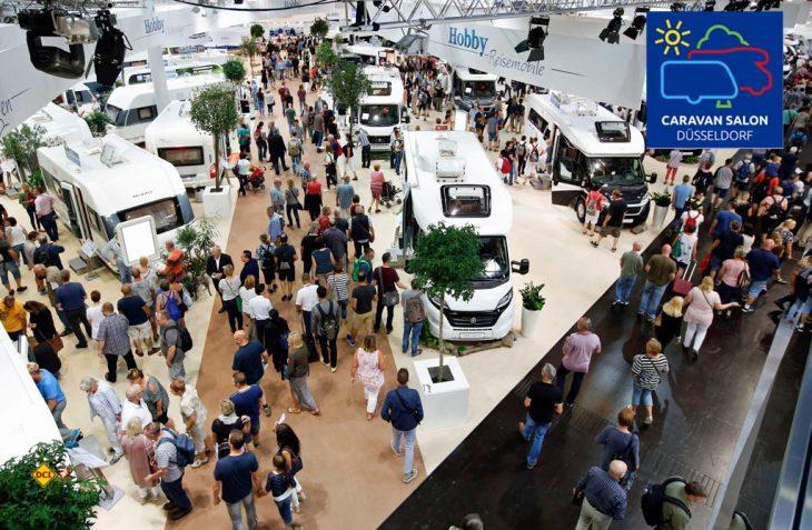 Augen auf beim Messekauf: Der Caravan Salon als weltgrößte Freizeitmesse lockt mit einem riesigen Angebot an Caravans und Reisemobilen. (Foto: Caravan Salon)