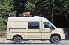 Damit aus dem Jumper ein Wildcamper wird, muss das Fahrzeug komplett beplankt werden. (Foto: Citroen)