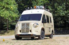 Er soll keine Kopie, aber eine Hommaga an den Kult-Transporter H-Type sein: Der Citroen Wildcamper Typ H. (Foto:Citroen)