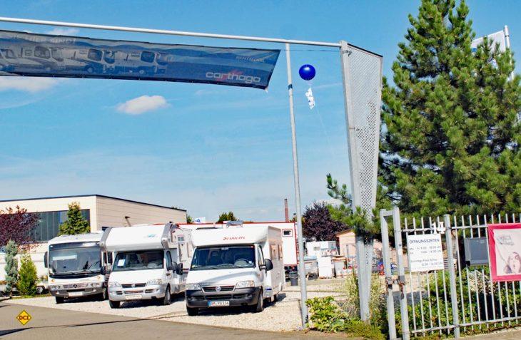 Der Deutsche Caravaning Handels-Verbands DCHV meldet für das erste Halbjahr 2019 ein solides Wachstum auch bei gebrauchten Freizeitfahrzeugen. (Foto: det/D.C.I.)