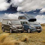 Caravan Salon 2018 – Ford Nugget Plus jetzt Serie – Euroline mit Aufstelldach