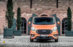 Ford hat seinen Bestseller Transit Custom einem Facelift innen und außen unterzogen. (Foto: Ford)