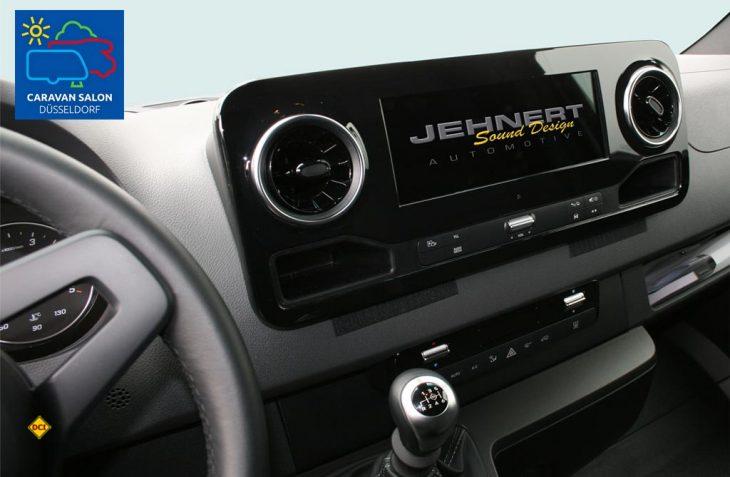 Für den neuen Sprinter von Mercedes-Benz haben die Sound-Spezialisten von Jehnert Sound Desing ein maßgeschneidertes Paket geschnürt. (Foto: Jehnert)