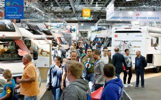 Tolles erstes Wochenende für den Caravan Salon 2018 in Düsseldorf: 75.000 Besucher wollten die Neuheiten 2019 auf der weltgrößten Messe für mobile Freizeit sehen. (Foto: Caravan Salon)