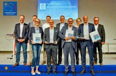 Der Lieferanten- und Partnerschaftspreises Lupo des DCHV 2018 geht in den Kategorien Hersteller, Zulieferer und Dienstleister an die Dethleffs GmbH, die InterCaravaning GmbH und die S-Kreditpartner GmbH. (Foto: DCHV)