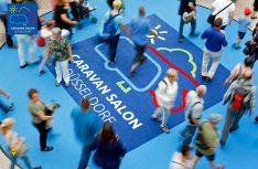 Rekordverdächtige Halbzeitbilanz: Der Caravan Salon Düsseldorf 2018 zählt über 145.000 Besucher. Das sind rund 12 Prozent mehr als im letzten Jahr zum gleichen Zeitpunkt. (Foto: Caravan Salon)