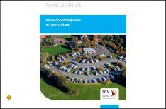Die neue Planungshilfe für Reisemobilstellplätze des DTV ist erschienen. (Foto: DTV)