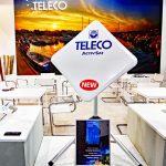 Messesplitter Caravan Salon 2018 – Teleco präsentiert mobile vollautomatische Sat-Antenne