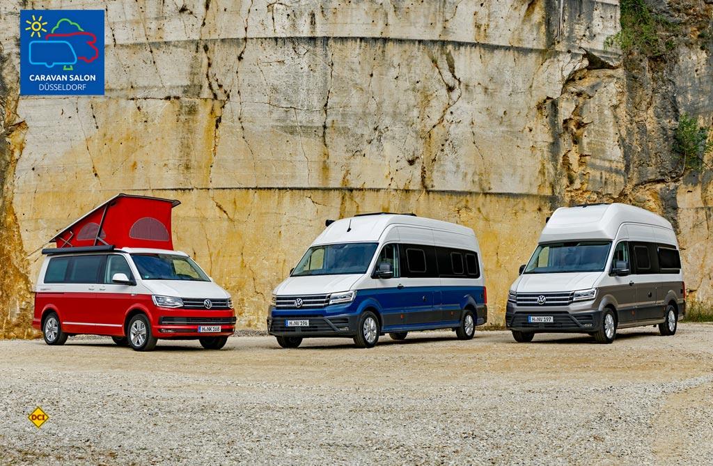 Messesplitter Caravan Salon 2018 – VW legt nach – zwei Modelle Grand ...