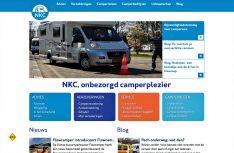 Die aufwändig gemachte Webseite des NKC. (Foto: NKC)