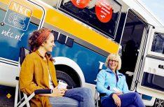 Der NKC ist mit einem eigenen Reisemobil unterwegs: Menschen zusammenführen und den Wohnmobil-Tourismus europaweit fördern sind Ideen des Clubs. (Foto: NKC)