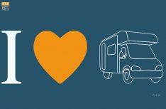 Markantes Logo und klares Statement für das Wohnmobil. (Foto: NKC)
