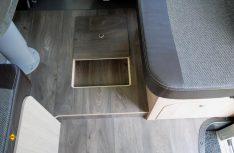 Sunlight hat seinen I 69 L mit vielen Staufächern wie ihr im Boden der Sitzgruppe ausgestattet. (Foto: det)
